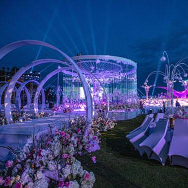 """中国再生""""让爱飞翔""""世纪婚礼盛典在三亚举行"""