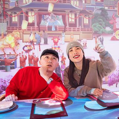北京必胜客携兔爷儿出场,演绎非遗文化大过中国年